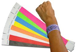 Imprenta Insular wristbands for events